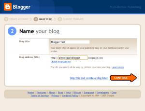 Blogger Signup 2