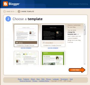Blogger Signup 3
