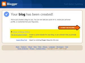 Blogger Signup 4
